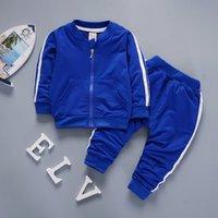ЛЖ Младенческая одежда 2021 Новая осень зима повседневная ребёнок костюм для детских мальчиков одежда куртка брюки набор набор детской одежды 2367 Q2