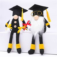 Doctor Graduation Gnomes Graduated Student Dwarf Gifts Home Ornaments Long Leg Congrats Grad Swedish Gnomes 2099 V2