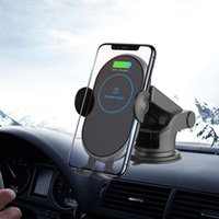 Car Wireless Charger Stand Automatic Infrared Clip Air Vent Mount Phone Holder 15W Fast For 12 XS Max Fishing Accessories