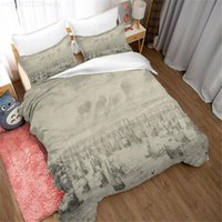 Bedding Sets Ink Nautical Chinese Style Large Duvet Cover Comfortable Bedroom Family Pillow Case Without Sheets