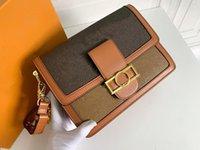 Dauphine Çanta Kadın Lüks Tasarımcılar Çanta 2021 Tote Hakiki Deri Çanta Omuz Çantaları Crossbody Çanta