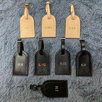 Высокое Качество Kee Pall Начальные багажные Теги Настоящие Кожа Персонализированные пользовательские Логотип Горячая Марка Путешествия Аксессуары Этикетки Засловленные тег