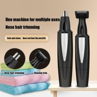 Electric Nose & Ear Trimmers Hair Trimmer Implement Shaver Clipper Neck Eyebrow Man Woman Clean Trimer Razor Remover Kit