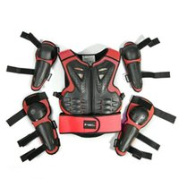 Motorcycle Armor Children's Body Motocross Chest Back Protector Vest Jacket Racing Protective Guard MX
