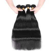Wholesale Price Double Drawn Straight Bundles Brazilian Hair Weave No Tangle Shedding Free For Wedding Dating Party