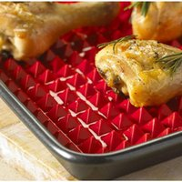 Tools & Accessories Nonstick Silicone Baking Mats BBQ Pyramid Pan Bakeware Pad Moulds Microwave Oven Tray Sheet Kitchen