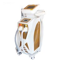 3 in 1 Nd Yag Laser Tattoo Removal IPL Hair Remove Skin Care Wrinkle Treatment Double Screen Machine Beauty Salon USE