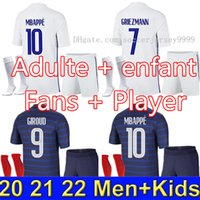 Maillots de football France 2021 THAILAND QUALITY 20 21 socc...