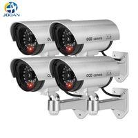 4pcs Waterproof Fake Camera Dummy Outdoor Indoor Security CCTV Surveillance IP Cameras