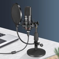 Microphone computer desktop notebook mobile phone recording dedicated anchor live game singing voice video conference class USB interface hand radio