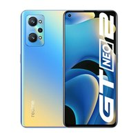 """Original Oppo Realme GT NEO 2 5G Mobile Phone 12GB RAM 256GB ROM Snapdragon 870 64.0MP AI NFC 5000mAh Android 6.62"""" AMOLED Full Screen Fingerprint ID Face Smart Cell Phone"""