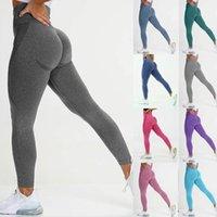 Women's Pants & Capris High Waist Joga Leggings For Women Seamless Fitness BuLifting Workout Athletic Trousers Leggins Mujer