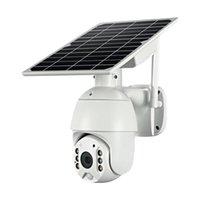 مصغرة كاميرات في الهواء الطلق الأمن الشمسي wifi كاميرا 1080 وعاء HD PTZ اللاسلكية مراقبة للماء CCTV المراقبة المنزلية الذكية
