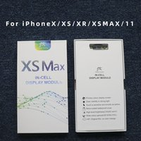 10pcs Buona qualità OLED LCD Display Touch Screen Digitizer Assembly Parti di ricambio per iPhone X XS XR