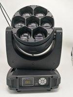 Эффекты 4 Pack Bee Eyes 7x40w Светодиодная мытье Уменьшение движущегося головного света для ступени диско-клуба