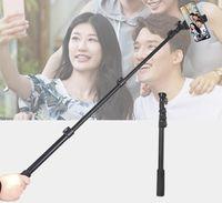 Longa selfie vara monopé bluetooth tripé dobrável obrável sem fio obturador para smartphone com caixa de varejo