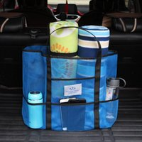 Storage Boxes & Bins Portable Bag Summer Cool And Simple Mesh Net Wash Kids Toys Beach Mom Baby Handbag Hanging Organizers