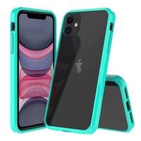 Cojín de aire acrílico Armadura de cristal híbrido Soft Transparente Transparente a prueba de golpes Funda de cubierta de la cubierta para iPhone 13 Pro Max 12 Mini 11 XS XR x 8 7 6 6S PLUS SE