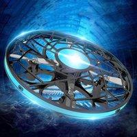 Drones Mini OVNI Anti-Collision RC Drone Hand Drone Infrado Volar Helicopter 830 Rotar Inducción Dron Electrónico Flayaball Niños Juguetes