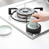 Limpeza esponjas de limpeza Escova de escova de cozinha limpa escovas esferas esferas não sujas mãos esfregam ferrugem com punho fwf10626