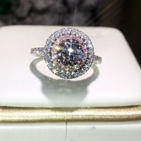 Victoria wieck handgemacht luxus schmuck 925 sterling silber runde geschnitten pinkwhite saphir cz diamant edelsteine farbe frauen hochzeit band ring ut01