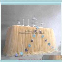 Panos gardencloths têxteis gardenbirthday saia tutu tle toalware pano halloween natal festa de aniversário mesa decoração macia casa t