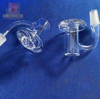 Base Quartz Banger Nail Smoking Pipe Domeless 10mm 14mm 18mm For Hookahs Water Pipes Glass Bong Bubbler