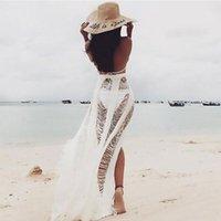 Deck-ups sommer frauen strand tragen weiß schwarz baumwolle tunika kleid bikini bad sarong wrap rock badeanzug up up up up up up up up up up up sarongs