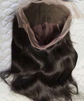 Yüksek qualityonline satın alma düz uzun insan ön ve dantel peruk ile bebek saç doğal saç çizgisi, ön koparma ağartılmış knotstw