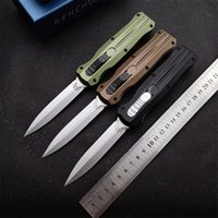 BENCHMADE BM3320 3320 double action folding automatic Knife Outdoor Camping Hunting Pocket Kitchen Tool EDC Fruit 3300 3310 3350 KNIVES