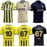 2021 تركيا فنيرباهيش لكرة القدم جيرسي البيت الثالث Samatta Kahveci Tufan Perotti Ozil 20 21 قميص كرة القدم