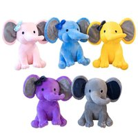 Plush toys Creative stuffed animals 25CM Doll to appease the baby elephant dolls plushs toy babys sleep with Holiday Party Prom Christmas Valentine's Day New Year Gift