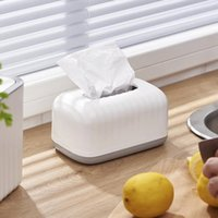Tissue Boxes & Napkins Wet Box Desktop Seal Baby Wipes Paper Storage Household Plastic Dust-proof For Home Office Decor