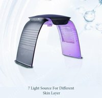 7 colors beauty spa skin rejuvenation acne remover anti-wrinkle red light device photon pdt therapy machine led mask