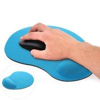 마우스 패드 손목은 rects comfy 두꺼운 스폰지 나머지 매트 마우스 패드 컴퓨터