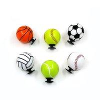 100 pcs + super 3D bolas sapato encantos de alta qualidade ornamentos de plástico Jibitz para CRO C CA Acessórios de Encanto Resina material como presente