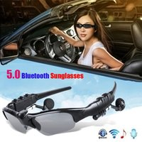 Smart Audio Bluetooth Sunglasses earphone BT5.0 Headphone Glasses Wireless Earbuds Dual connected support all smarts Phones devices PC Tablets Driving Sport Used
