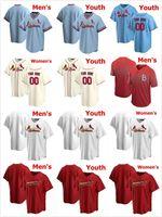 2021 Jersey Hombres Mujeres Niños Yadier Molina Paul Goldschmidt Matt Carpenter Dejong Carlos Martinez Marcell Ozuna Cardenal Jerseys de béisbol
