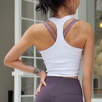 Cretkoav Sports Chaleco para mujer Correr Fitness T Shirts Cultivo de cosecha sexy Top entrenamiento Seco rápido Yoga Tops Tops Elástico Apretado ropa ropa