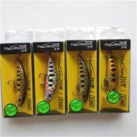 Tsurinoya 4pc 50mm 5g que hundía Minnow Cebo artificial para la pesca de la trucha Wobbler Wobbler Láser Hard Long Long Fishing Pesca LURE DW63 210415