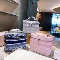Дизайнерский стиль косметические сумки дамы роскошь качественная сумка сумка сумка запястья сумки для запястья сумки для вышивки узор из ткани с вышивкой Многоцветный дополнительный большой Capacit