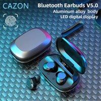 Auriculares inalámbricos Bluetooth G16 TWS Metal LED Pantalla digital Reducción de ruido Empresas impermeables Todo en uno Auriculares con tapones con aparatos auriculares