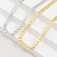 Chains 2021 Hip Hop Cuban Necklace For Women Twist Gold Silver Color Chunky Thick Lock Choker Chain Necklaces Party Jewelry