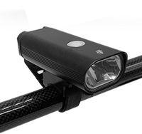 Bike Lights Bicycle Headlight Aluminum Alloy Car Waterproof USB Charging Safety Helmet Warning Riding Equipment Lighting