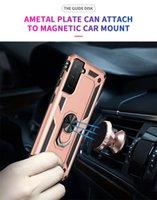 Shockproof Armor Phone Cases For Samsung Galaxy A01 Core M01 M51 A02 M02 A51 A71A70E A70S A10S A20S With Car Ring Bracket
