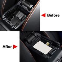 Other Interior Accessories Center Console For XV Crosstrek 2012-2021 Armrest Storage Box Container Glove Organizer Coin Tray Pallet
