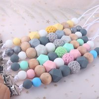 Craft Tool Pattern Holder Clip Silicone Anti Dropping Chain Baby Pacifier Clips Hairball Multicolour No Sharp Opp 5bq D2