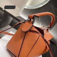 مصمم سيدة أكياس مربع حمل الصليب الجسم مزاجه حقيبة الإناث الكلاسيكية عادي حقيبة اليد جودة عالية مصغرة حقائب الكتف مع مربع