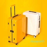 Iris Bobs Trolley Series Series Fashion Bagages Femme Chariot de 20 pouces Affiche de roue universelle Suitcase Mâle