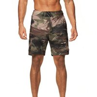 Gym Clothing 80% Men Quick-drying Loose Shorts Breathable Five-point Pants For Fitness Drawstring Pockets